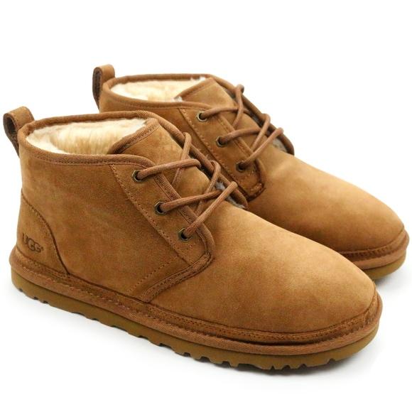 cdcb4859d1d UGG Neumel Chestnut Sheepskin Chukka Ankle Boots Boutique